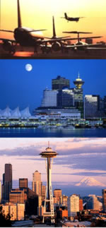 Serving the Vancouver and Seattle International Airports